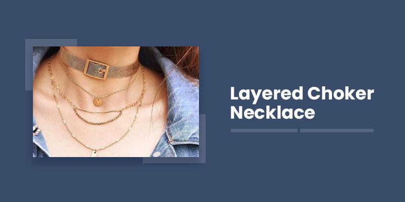 Layered Choker Necklace