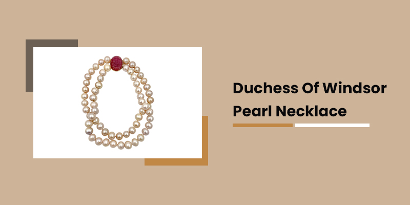 Duchess Of Windsor Pearl Necklace