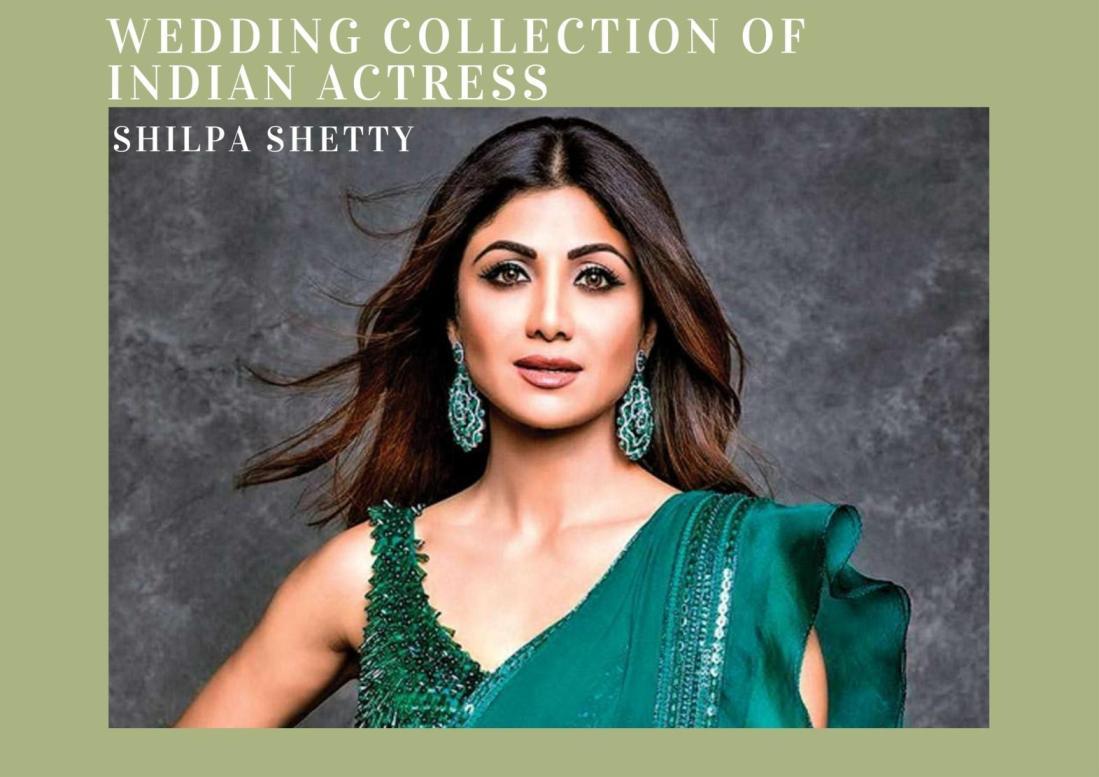 wedding collection of Shilpa Shetty