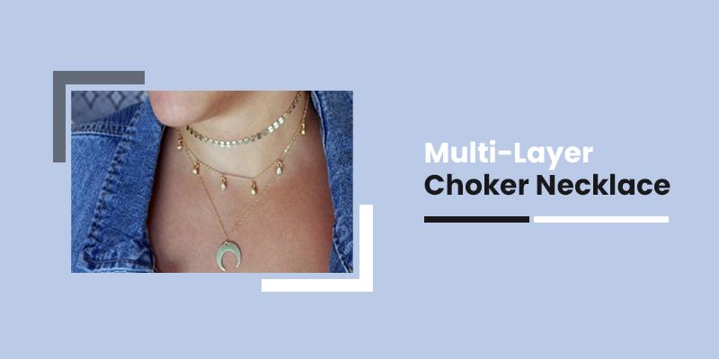 Multi-Layer Choker Necklace