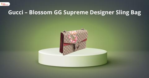 Gucci - Blossom GG Supreme Designer Sling Bag
